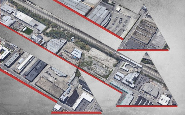 Chicago's industrial market saw just 364,000 square feet of new supply come online in the last three months of 2019, a sharp drop. (Credit: Google Maps)