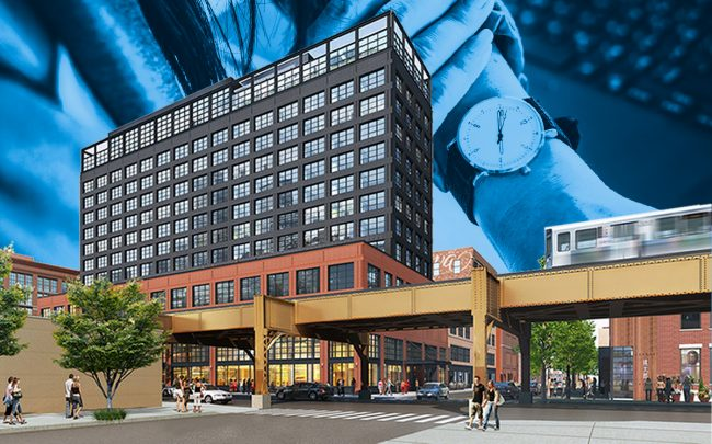 The Hoxton hotel at 200 N. Green St. (Credit: iStock)