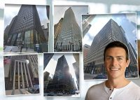 R2 Principal Matt Pistorio and buildings from the portfolio (Credit: Google Maps)