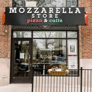 Mozzarella Store Pizza & Caffe at 822 North Michigan Avenue (Credit: Facebook)