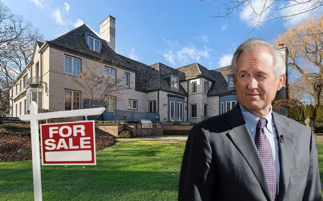 Retired chairman and CEO of Boeing James McNerney with the home (Credit: Getty Images and Zillow)