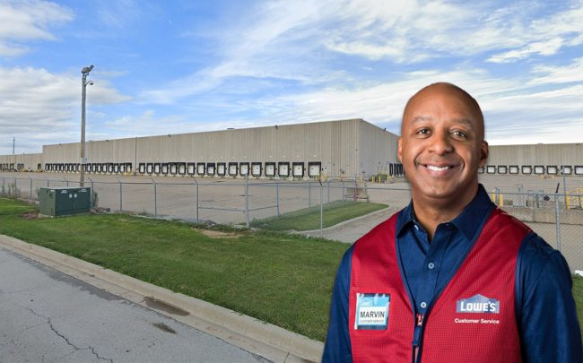 1600 North Boudreau Road & Lowe's CEO Marvin Ellison (Credit: Google Maps and Lowes)