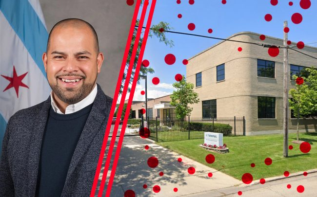 Ald. Andre Vasquez (40th) and 5500 N. Wolcott Ave. (Credit: Google Maps)