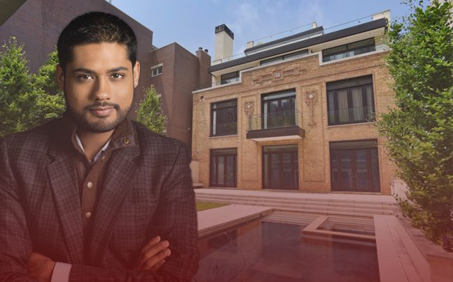 924 N. Clark Street and owner of the mansion, Rishi Shah