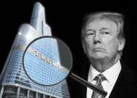 Trump International Hotel & Tower and Donald Trump (Credit: Trump and Getty Images)