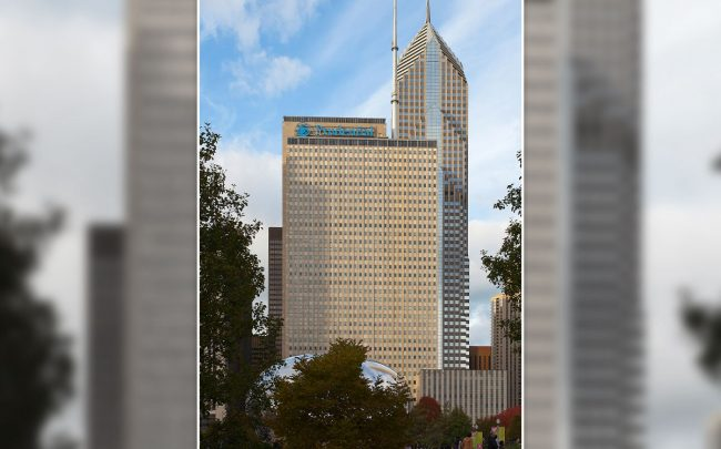 Prudential Plaza at 130 E. Randolph St. (Credit: Diego Delso/Wikipedia)
