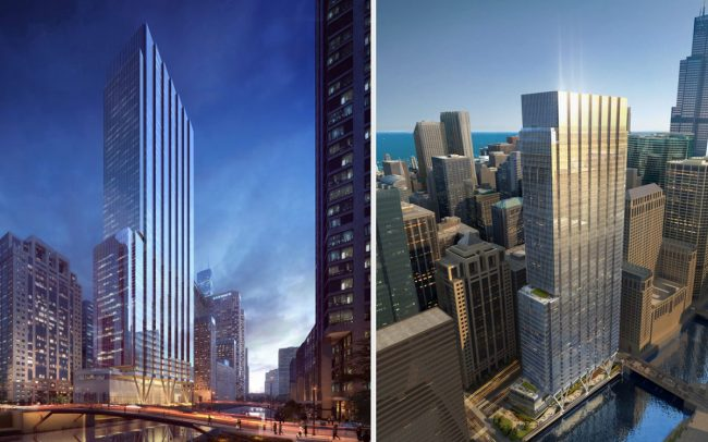 A rendering of Bank of America Tower (Credit: Riverside Investment & Development)