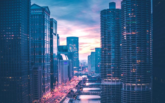 The Chicago office leasing market was strong in the first quarter of 2020, but the good times appear to be over. (Credit: Unsplash)