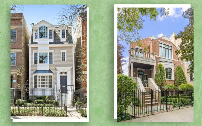1826 N. Cleveland Avenue and 2724 N. Bosworth Avenue (Credit: Redfin)