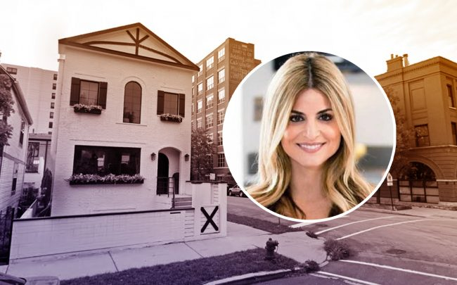 1700 W. Wabansia Ave in Wicker Park and  HGTV host Alison Victoria Gramenos (Credit: Google Maps)
