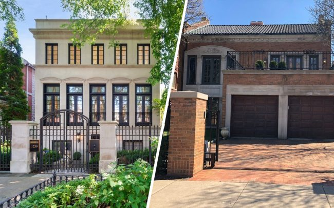 1239 W. Altgeld St. and 579 W. Hawthorne Place (Credit: Redfin)