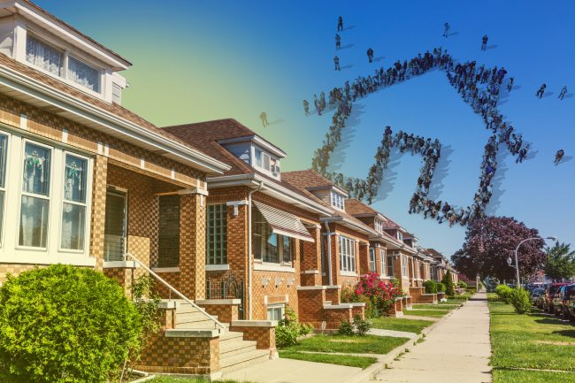 The Chicago housing market is seeing an uptick in contracts signed and in the number of open houses, as buyers and sellers get off the sidelines. (iStock)