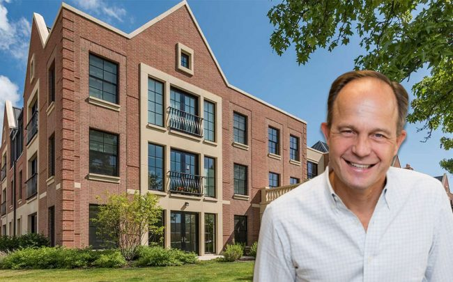 Focus' Tim Anderson and the Kelmscott Park apartments in downtown Lake Forest