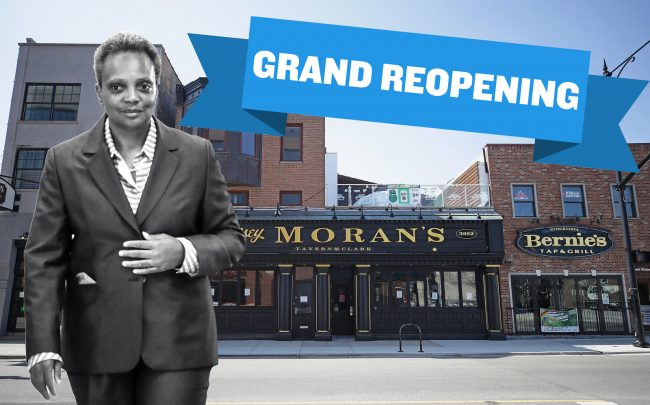 Mayor Lori Lightfoot is allowing city restaurants and bars to open for indoor dining — with restrictions — a week ahead of schedule. (Getty)