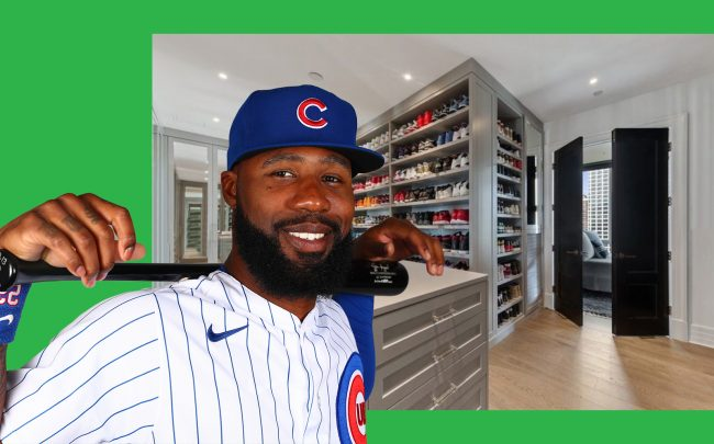 Jason Heyward and his sneaker collection closet at No. 9 Walton (Getty Images; No. 9 Walton via VHT Studios)