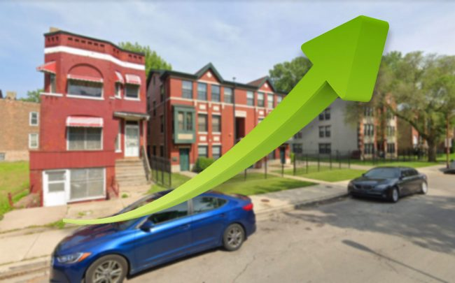 Homebuyers have flocked to Bronzeville (Credit: Google Maps)