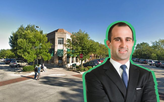TWEET: Plans for luxury condos in Winnetka were scrapped when a buyer nabbed a failed development site: Hoffmann Commercial Real Estate's Gregg Hoffmann and the project site at the corner of Elm Street and Lincoln Avenue (Hoffman; Google Maps)
