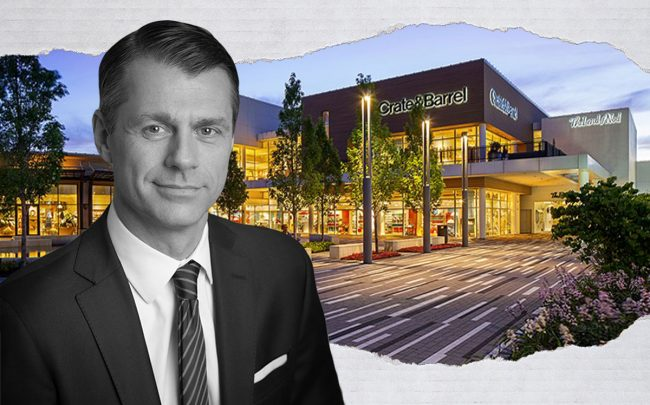 Oakbrook Center and Brookfield's Brian Kingston (Oakbrook Center)