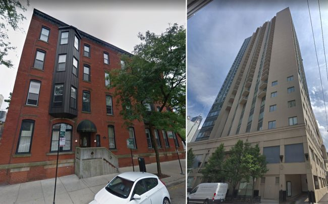 125 W. Maple Street; the Gold Coast Galleria at 111 W. Maple St. in Chicago (Credit:: Google Maps)
