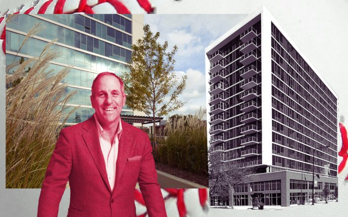 JDL Development's CRP James D. Letchinger and Halsted Flats (Getty, Halsted Flats, JDL Corp)