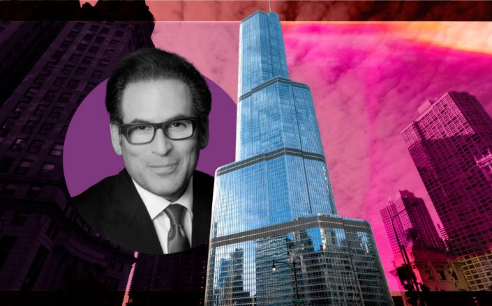 Trump International Hotel & Tower Chicago and Stephen Soloway (Photos via iStock, Soloway)