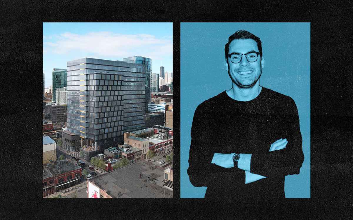 Foxtrot Market CEO Michael LaVitola and 167 N. Green Street