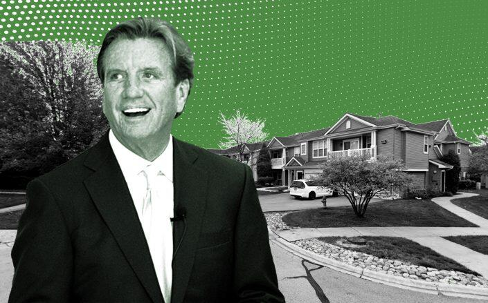 2064 Rockport Lane in Naperville with Connor Group managing partner Larry Connor (Google Maps, Connor Group)