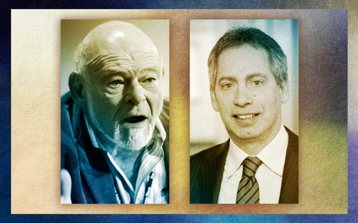 Sam Zell of Equity Commonwealth and Michael Landy of Monmouth Real Estate Investment (Getty, ACRE)