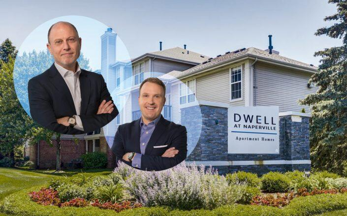 Redwood Capital Group co-founders David Carlson and Mark Isaacson. (Redwood Capital, Dwell)