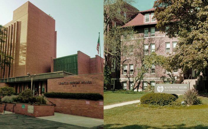 Cenacle Retreat House and Benedictine Sisters Monastery. (Midwest Jesuit, Benedictine Sisters of Chicago)