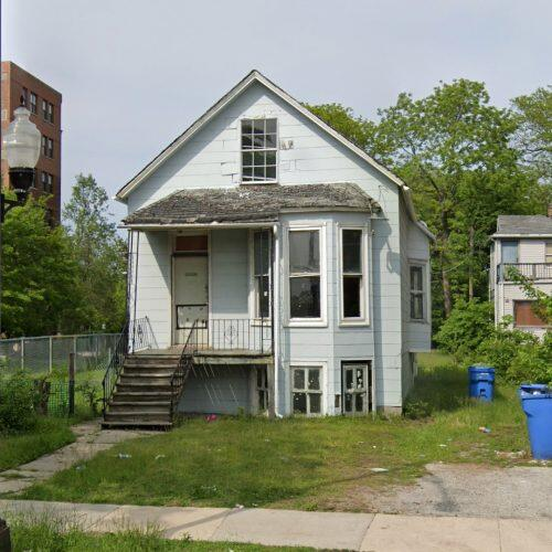 Kanye West's childhood home at 7815 S. South Shore Drive (Google Maps)