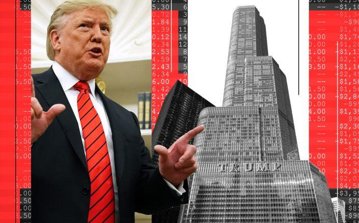 Donald Trump and the Trump International Hotel & Tower in Chicago (Getty, iStock)