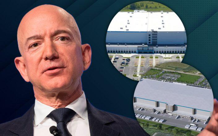 Amazon plans to hire 6,000 workers for two suburban sites but faces bumpy road