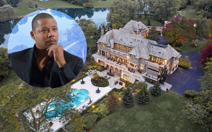 """The home of Terrance Howard's character Lucious Lyon on """"Empire"""" (Getty, @properties)"""