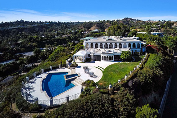 Home Prices 1187 North Hillcrest Road $135 million Beverly Hills