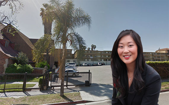 Jaime Lee and the Normandie Avenue site