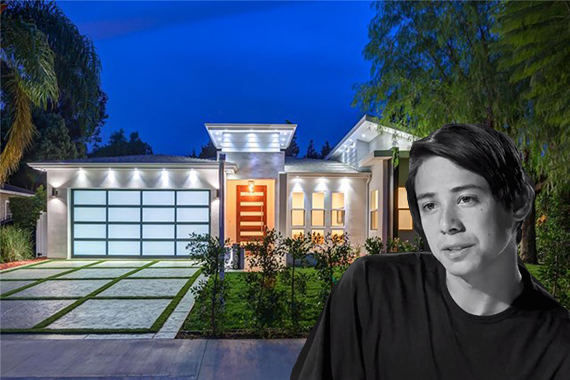 Sean Malto and his Sherman Oaks home