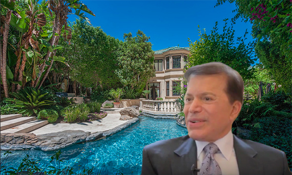 C. Frederick Wehba and the property he sold at 1700 Green Acres Drive in Beverly Hills