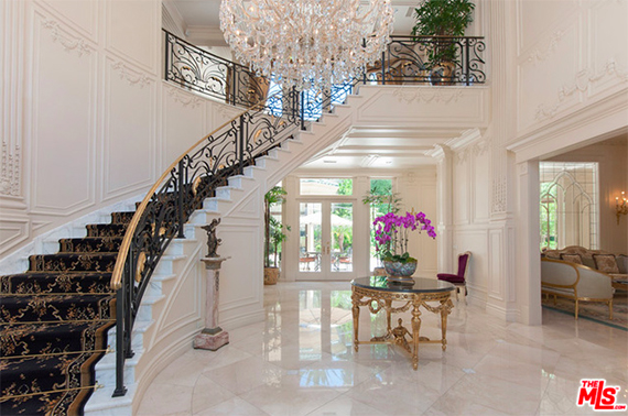 Inside 1700 Green Acres Drive in Beverly Hills