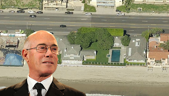 David Geffen and his Carbon Beach pad