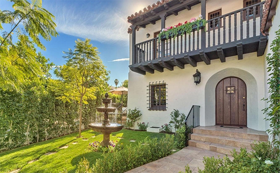 Charlie Hunman's new Beverly Hills home