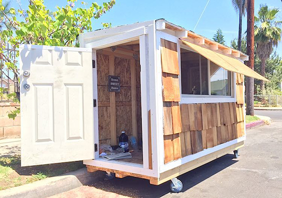 A tiny house (credit: Good News Network)