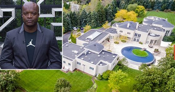 Kofi Nartey and the house owned by Michael Jordan he has listed at 2700 Point Lane
