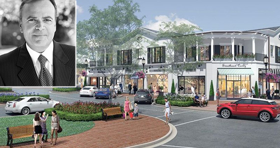 Rendering of Palisades Village in downtown Pacific Palisades (credit: Caruso Affiliated)