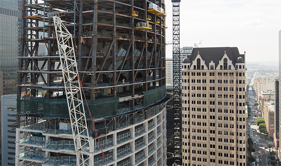 Wilshire Grand Construction