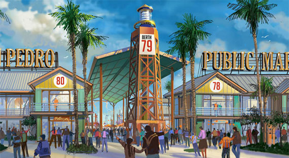 A rendering of the new San Pedro project