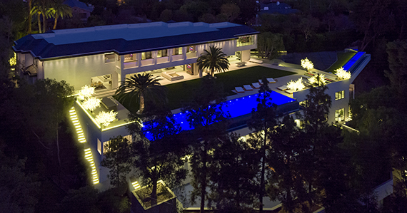 A $150 million home at 301 North Carolwood Drive in L.A. (credit: Simon Berlyn)
