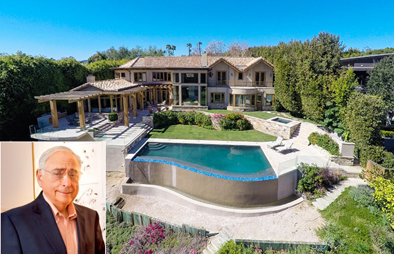 Fred Silverman and the Pacific Palisades home