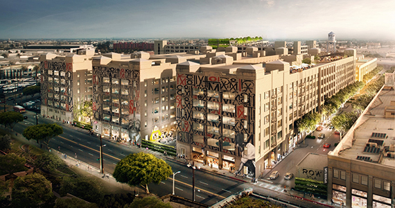 Rendering of Row DTLa (credit: Runyon Group)