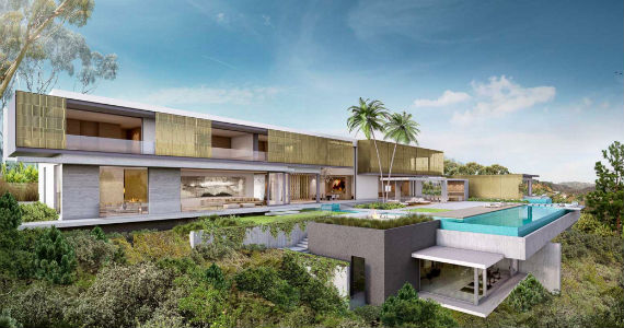 The Planned Spec House In Bel Air Credit SAOTA